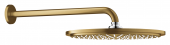 Grohe Rainshower Cosmopolitan - Kopfbrauseset 310 Brausearm 380 mm cool sunrise gebürstet
