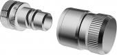 Hansa - Shower hose chrome plug-in coupling 0405