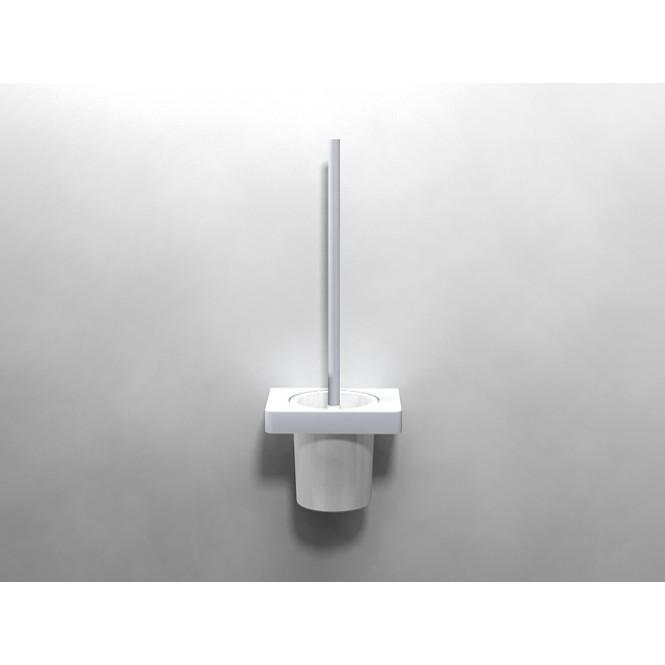 Dornbracht Lulu - Set porte brosse de toilette platine mat