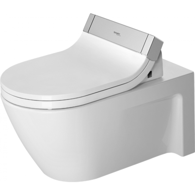 Duravit Starck 2 - Wand-Tiefspül-WC 620 x 375 mm für SensoWash ohne Beschichtung weiß