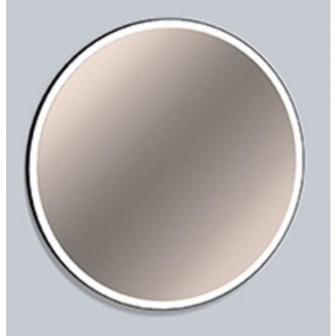 Alape SP.FR - Spiegel mit LED-Beleuchtung schwarz matt / verspiegelt