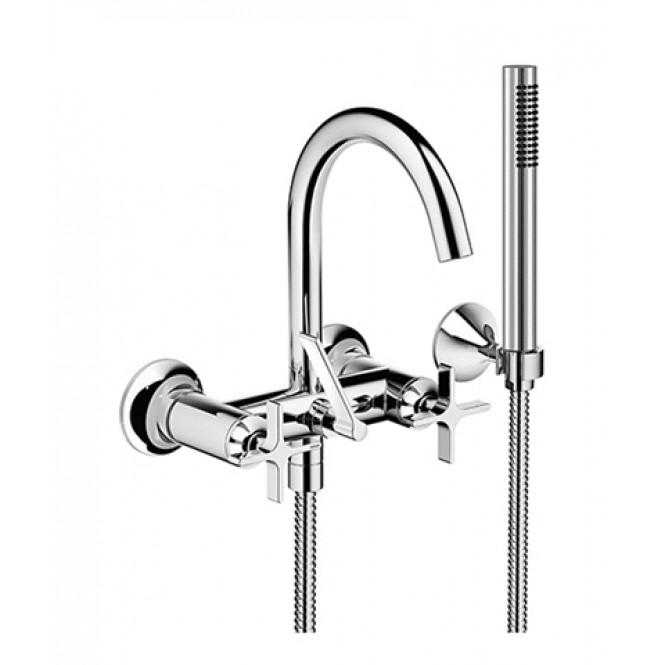 dornbracht-vaia-wall-mounted-bath-mixer-with-shower-hose-set
