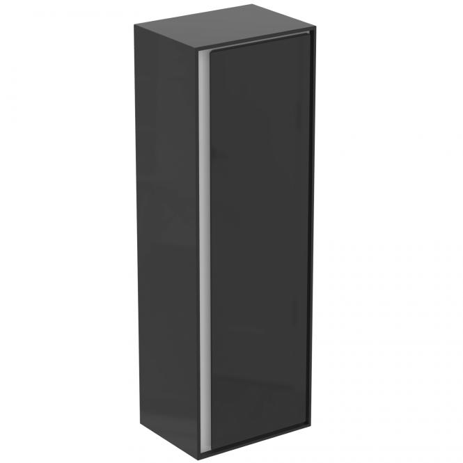 Ideal Standard Connect Air - Halbhochschrank 1 Tür 1200 x 300 x 400 mm braun / weiß matt