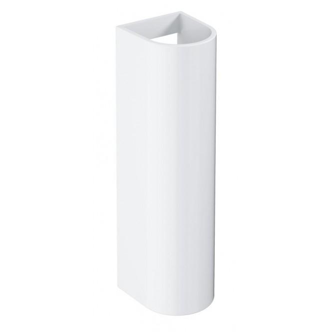 Grohe Euro Keramik - Standsäule für Waschtisch weiß