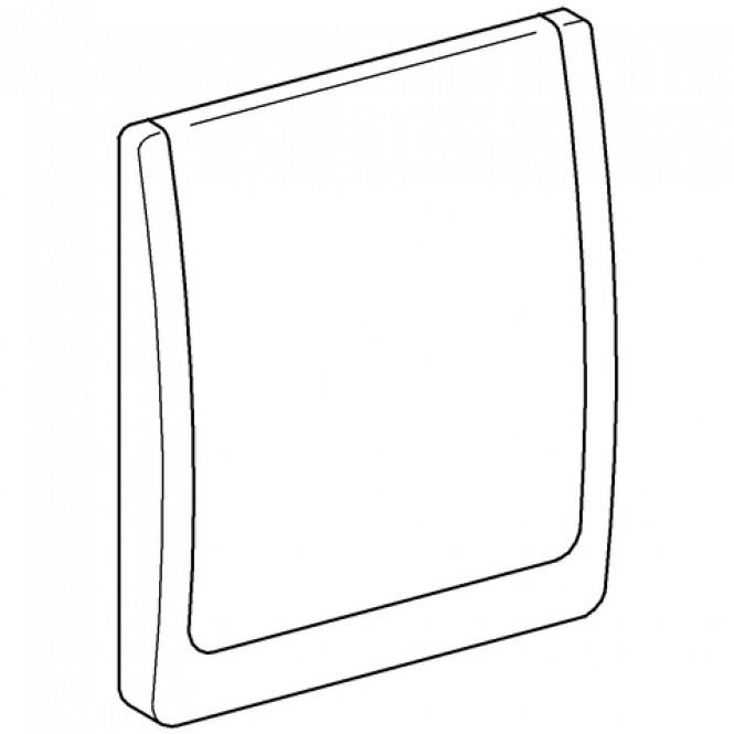 Grohe - Abdeckplatte 43179 komplett für WC-Druckspüler Wandeinbau mattchrom