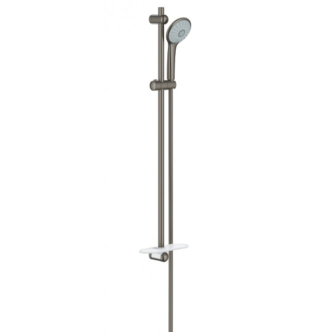 Grohe Euphoria - Brausegarnitur 110 Massage 900 mm Seifenschale hard graphite gebürstet