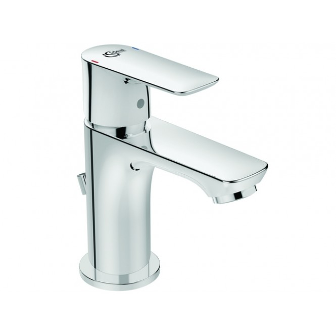 Ideal Standard Connect Air - Waschtischarmatur Piccolo mit Ablaufgarnitur 90 mm chrom