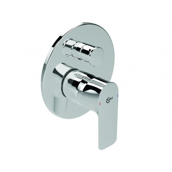 Ideal Standard Connect Air - Badearmatur Unterputz Bausatz 2 Rosette 163 mm chrom