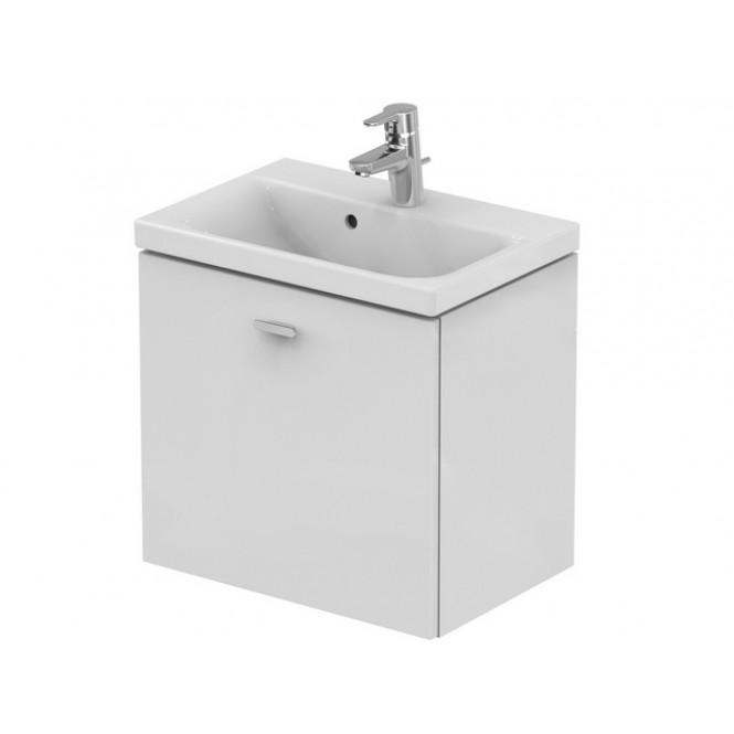 Ideal Standard Connect Space - Waschtisch-Unterschrank 540 x 375 x 513 mm hochglanz mittelgrau dekor