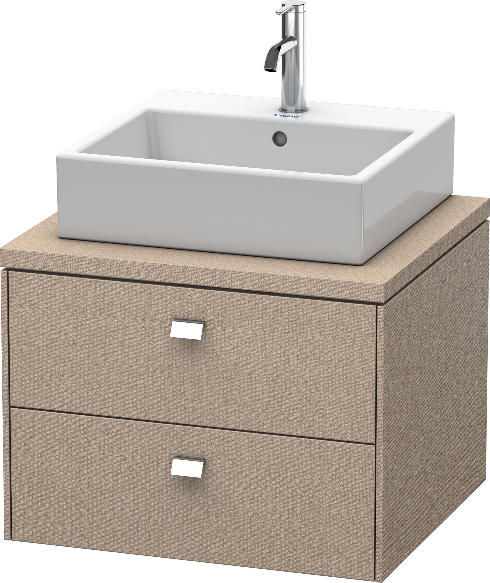 duravit brioso meuble bas pour plan de toilette 620 avec. Black Bedroom Furniture Sets. Home Design Ideas