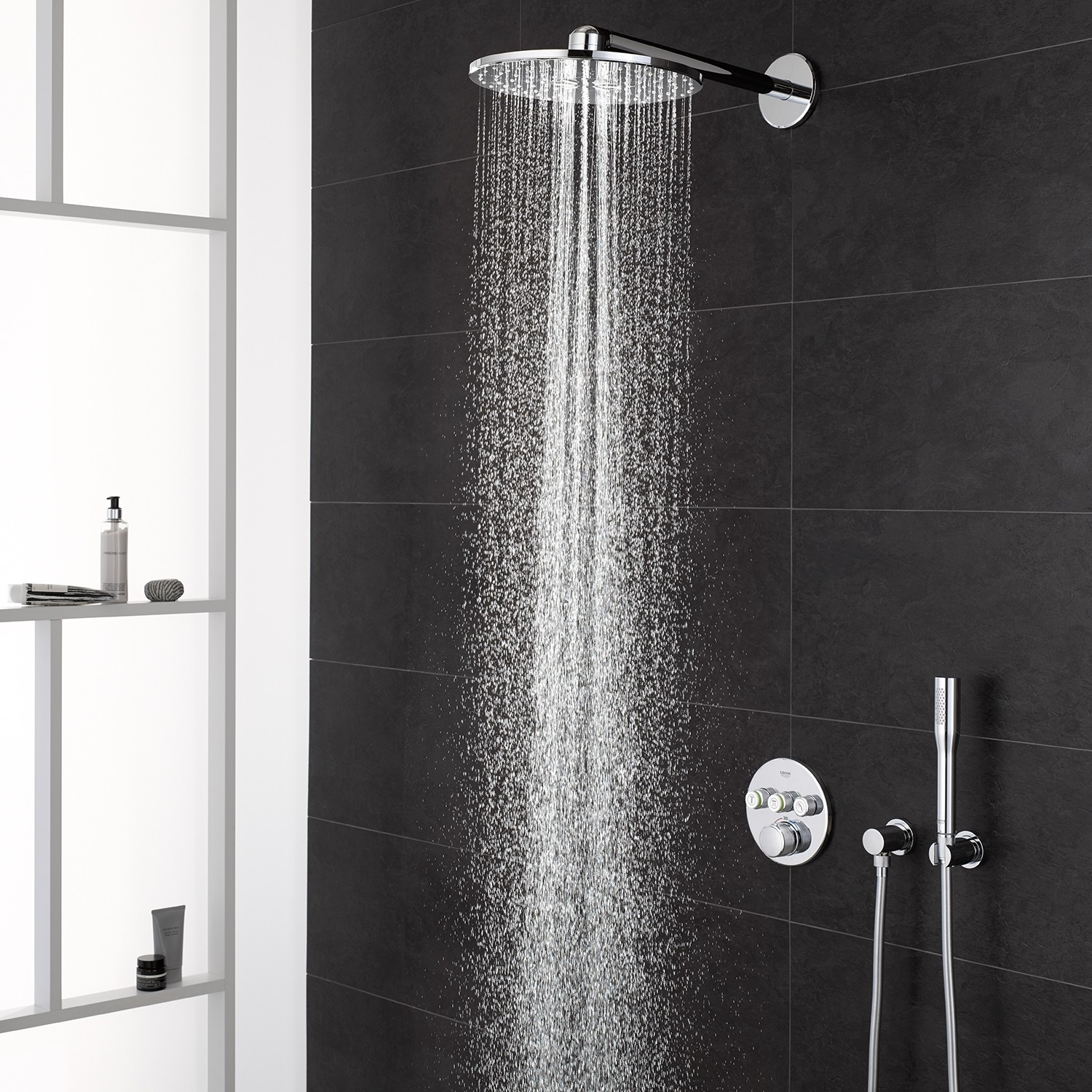 grohe grohtherm smartcontrol syst me de douche rainshower 310 smart active avec mitigeur. Black Bedroom Furniture Sets. Home Design Ideas