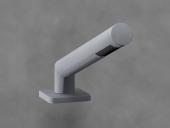 Dornbracht LULU - Jeu de flexibles de douche 1jet platine mat