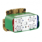 Hansgrohe Axor One - Grundkörper für Thermostatmodul Unterputz