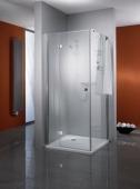 HSK - Flanc, Premium Classique, 41 chrome-look 900 x 1850 mm, 100 Lunettes centre d'art