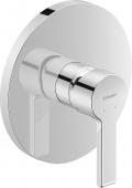 Duravit B.2 - Einhebel-Brausemischer Unterputz Fertigmontage-Set 195 x 195 x 195 mm