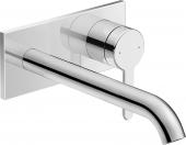 Duravit C.1 - Einhebel-Waschtischmischer Unterputz Auslauf 274 x 374 x 154 mm