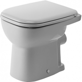 Duravit D-Code - Stand-WC 480 mm