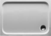 Duravit D-Code - Duschwanne 1000 x 700 x 85 mm Rechteck weiss