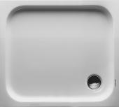 Duravit D-Code - Rechteck-Duschwanne 900 x 800 x 85 mm weiß