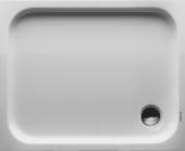 Duravit D-Code - Rechteck-Duschwanne 1000 x 800 x 85 mm weiß