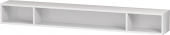 Duravit L-Cube - Elément étagère horizontal 1000 x 120 x 140 mm avec 3 compartiments blanc brillant