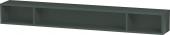 Duravit L-Cube - Elément étagère horizontal 1000 x 120 x 140 mm avec 3 compartiments gris dolomite brillant