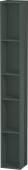Duravit L-Cube - Elément étagère vertical 180 x 1400 x 180 mm avec 5 compartiments gris dolomite brillant
