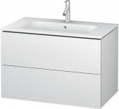 Duravit L-Cube - Meuble sous-vasque 820 x 550 x 481 mm avec 2 tiroirs blanc mat