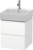 Duravit L-Cube - Meuble sous-vasque 484 x 544 x 459 mm avec 2 tiroirs blanc mat