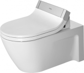 Duravit Starck 2 - Wand-Tiefspül-WC 620 x 375 mm für SensoWash mit WonderGliss weiß