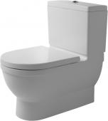 Duravit Starck 3 - Big Toilet 740 mm mit WonderGliss weiß
