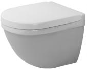 Duravit Starck 3 - Wand-WC Compact 485 mm Tiefspüler Durafix weiß WonderGliss