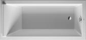 Duravit Starck - Rechteck-Badewanne 1700 x 800 mm weiß