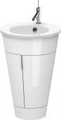 Duravit Starck - Waschtischunterbau stehend Weiß Hochglanz Lack 560 mm
