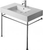Duravit Vero - Metallkonsole für Möbelwaschtisch chrom