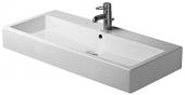 Duravit Vero - Doppelwaschtisch 1000 x 470 mm weiß