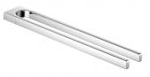 Keuco Collection Moll - Handtuchhalter 12718 2-armig 450 mm feststehend verchromt
