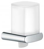 Keuco Elegance - Distributeur de savon chrome / blanc