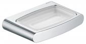 Keuco Elegance - Support pour savon chromé / mat
