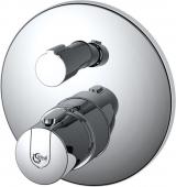 Ideal Standard CeraTherm - Façade pour mitigeur thermostatique sans inverseur manuel chrome