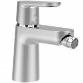 Ideal Standard Ceravito - Bidetarmatur mit Ablaufgarnitur Ausladung 110 mm chrom