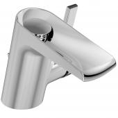 Ideal Standard Melange - Einhebel-Waschtischarmatur Wasserfall mit Ablaufgarnitur chrom