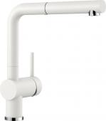 Blanco Linus-S - Küchenarmatur Silgranit-Look Hochdruck Silgranitweiß