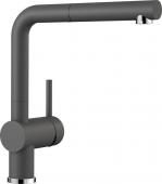 Blanco Linus-S - Küchenarmatur Silgranit-Look Hochdruck felsgrau