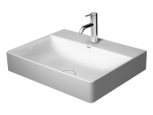Duravit DuraSquare - Waschtisch 600 x 470 mm mit 1 Hahnloch weiß