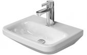 Duravit DuraStyle - Handwaschbecken 450 mm ohne Überlauf 1 Hahnloch weiß WonderGliss