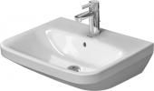 Duravit DuraStyle - Waschtisch 550 mm mit Überlauf mit Hahnlochbank 1 Hahnloch weiß WonderGliss