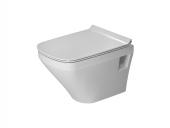 Duravit DuraStyle - Wand-Tiefspül-WC Compact Set rimless weiß ohne WonderGliss Bild 2