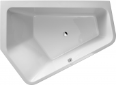 Duravit Paiova - Badewanne 1900 x 1400 mm Ecke links Einbauversion weiß