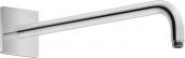 Duravit Universal - Brausearm gebogen L352 eckig schwarz matt